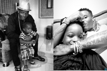 Wizkid Shares Throwback Photos As He Celebrates His First Son On 10th Birthday
